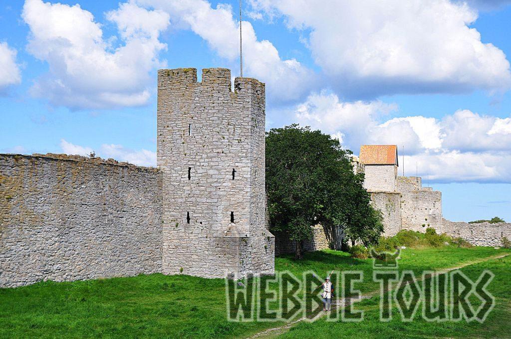 Ett slott på Gotland
